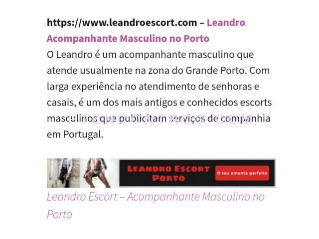 ACOMPANHANTES & ESCORTS DE LUXO MASCULINO DO PORTO LEANDRO❤917383351❤ - 1